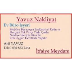 Yavuz Nakliyat,Ankara Şehiriçi Nakliyesi