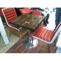 Cafe Masa Sandalye Takımı Kahve 2.El-Vural Ticaret