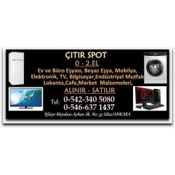 Kartvizit-Çıtır Spot-Ankara İkinci El Ev Eşyası,Büro Eşyası,Endüstriyel Mutfak,Elektronik,TV Alan Satan