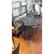 Cafe Masa Sandalye Takımı Ferforje 2.El-Vural Ticaret
