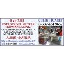 Kartvizit-Çelik Ticaret-Ankara 2.El Endüstriyel Mutfak Eşyası,market,restorant malzemesi ve ekipmanları alan satan mağaza