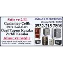 Kartvizit- Ankara Elektronik - Sıfır ve  2. El Çelik Para Kasası Alım Satım Mağazası