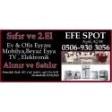 Kartvizit- Efe Spot - Ankarada 2. El Ev Büro Eşyası Alım Satım Yapan Mağaza