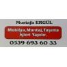 Mustafa ERGÜL . Eşya Taşıma ve Mobilya Montaj Hizmeti Verilir.