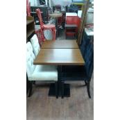 4 Sandalye 2 Masa Cafe Pastane Mekanları İçin Uygun - Vural Ticaret