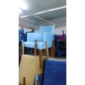 Kumaş Kaplı Ahşap Sandalye ve Tüm Mekanlar İçin - Vural Ticaret