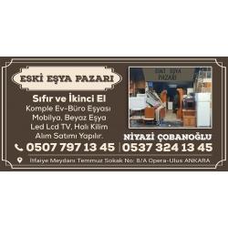 Kartvizit-Eski Eşya Pazarı-Ankara İkinci El Ev Büro Eşyası Alan Satan Mağaza