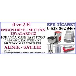 Kartvizit- Efe Ticaret - İkinci El Endüstriyel Mutfak Eşyası Market Lokanta Pastane Malzemesi Alan Satan Mağaza