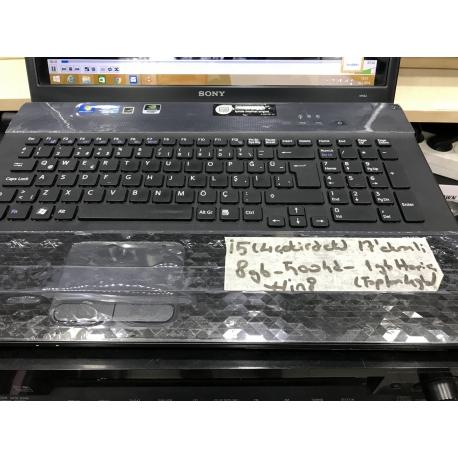 Sony Laptop i5 4 Çekirdekli İşlemci 8GB Ram 500Gb Hdd Win 8 - Hazallar Elektronik