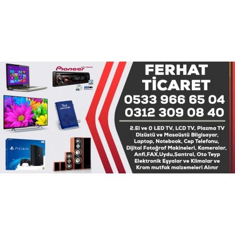 Kartvizit- Ferhat Ticaret - Ankara 2. El TV,Laptop,Fotoğraf Makinesi,Elektronik Alım Satım Mağazası