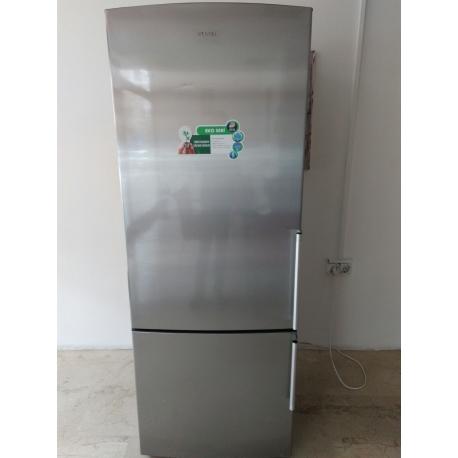 2. El Vestel alttan difirizli inox kombi A+ buzdolabı - Erdoğan Ticaret