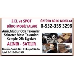 Kartvizit-Öztürk Mobilya-İkinci El ve Spot Ev Büro Eşyası Alım Satım Mağazası Ankara
