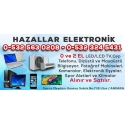 Kartvizit- Hazallar Elektronik - Ankara İkinci El TV,Laptop,Fotoğraf Makinesi,Spor Aletleri,Elektronik Alım Satım Mağazası