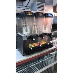 2.el Renta marka üçlü şerbetlik meyve suyu makinesi sıfır ayarında