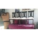 6 Adet Ahşap Sandalye 2.El - Eski Eşya Pazarı