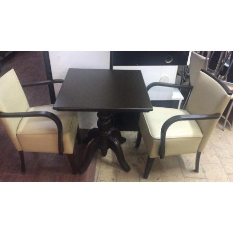 Pastane Cafe 2li Takım 2 sandalye ve 1 masa - Vural Ticaret