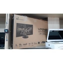 "ASUS 24"" VP248H 75Hz 1ms VGA HDMI FHD Freesync Gaming Monitör Spot Yeni Ürün - Yağmur Spot"