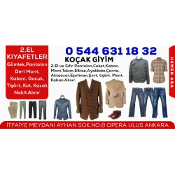 Koçak Giyim- 2.El Kıyafet Elbise Gömlek Pantolon Alanlar Ankara