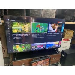 2.El En Ucuz Samsung UE-55RU7100 55 inç 140 Ekran 4K Ultra HD Uydu Alıcılı Smart LED TV- Yağmur Spot