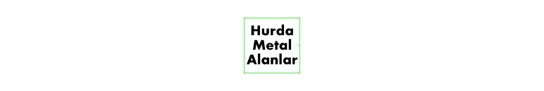 Hurda Metal Alanlar