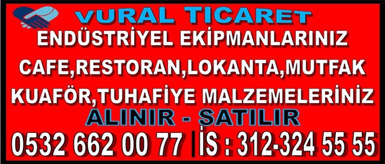 Ankara 2.El Endüstriyel Mutfak Eşyası,market,restorant,kuaför mobilya ve eşyası Alan Satan Mağaza