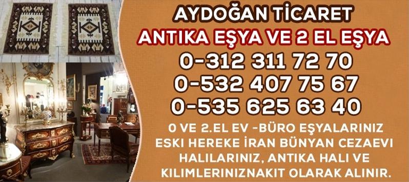Ankara Antika Halı Kilim Ev Büro Eşyası Alan Mağaza