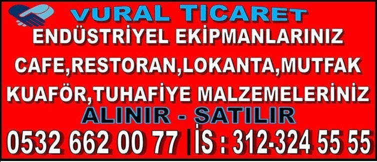 Ankara 2.El Endüstriyel Mutfak Eşyası, market,restorant,kuaför mobilya ve eşyası alan satan mağaza