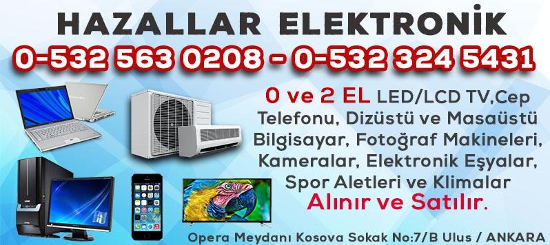 Ankara İkinci El TV,Bilgisayar,Playstation,Fotoğraf Makinesi,Kamera,Elektronik.Spor Aleti Alım Satım Mağazası