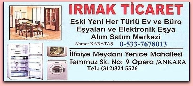 Ankara İkinci El Ev Büro Eşyası Alan Satan Mağaza.