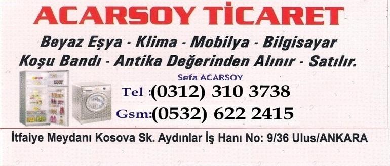 Ankara İkinci El Beyaz Eşya Mobilya Halı TV Antika Elektronik Alan Satan Firma